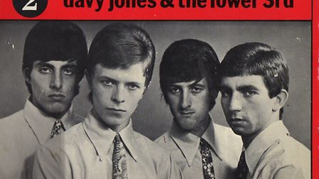 David Bowie and the Lower Third from a single release in the 1960s