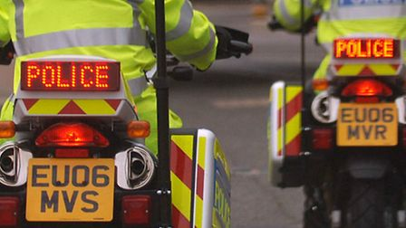 Two cars were involved in a collision at junction 9 of the A1(M)