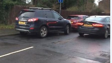 A petition has been launched which complains that members of staff at Baldock Manor are parking alon