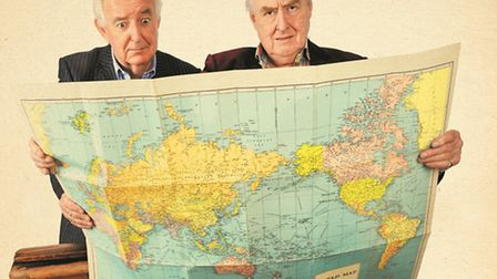 Blofeld & Baxter Rogues On the Road. Picture by Steve Ullathorne