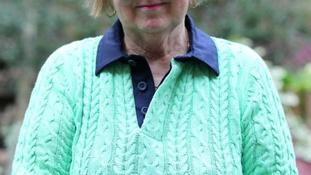 Margaret Gregory pictured in her garden was attacked at her home on Friday night by four late teens