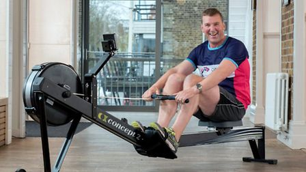 Sir Matthew Pinsent is backing the Cancer Research UK indoor rowing challenge