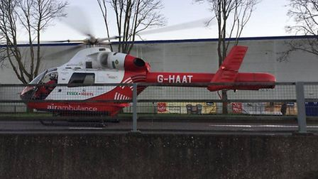 The Herts Air Ambulance team needs your support