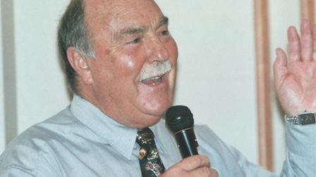 Jimmy Greaves, in whose aid a benefit show will be held in Stevenage on February 26.