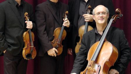 Coull Quartet play Benslow Music January 2015