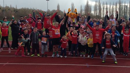 Fairlands Valley Spartans are again hosting a Sport Relief Mile event at Ridlins End running track i