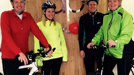 360 Play staff are saddling up in support of Sport Relief. Managing director Duncan Phillips (left)