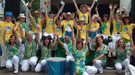 Letchworth-based Garden City Samba bring the sounds of Rio carnival to Herts