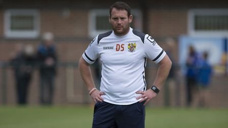 Stevenage coach Darren Sarll is now in temporary charge at Stevenage. Picture by Paul Sanwell/OP Pho