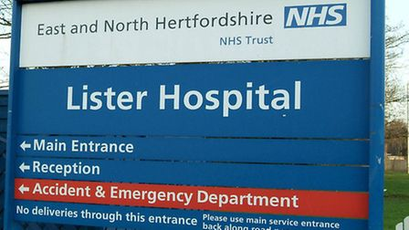 A&E services for adults with minor injuries and illnesses have been suspended at the Lister hospital