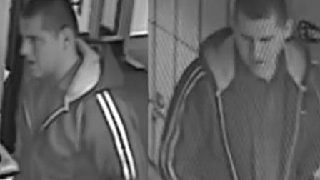 Police want to talk to this man as they investigate a reported incident in the mixed changing area a