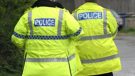A man suffered facial injuries in a violent attack in Shefford on Saturday.