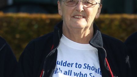 Joan Ellis, chairman of the Royal British Legion's Letchworth branch, has thanked the public for the