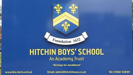 Hitchin Boys' School were awarded outstanding by Ofsted.