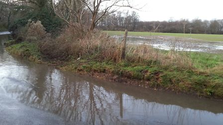 Flooding is among the concerns Great Ashby residents have voiced over plans to build up to 360 homes
