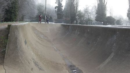 The skate park at Bowes Lyon in Stevenage is set to be repaired.