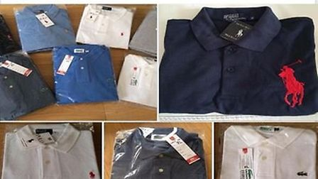 A Facebook post made by Gutteridge advertising some of the counterfeit goods.