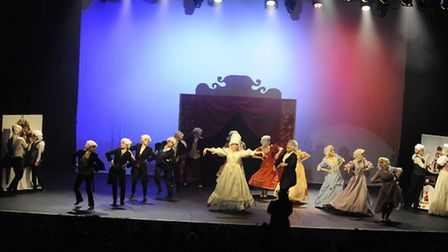Marriotts pupils performed a dance based on the French Revolution