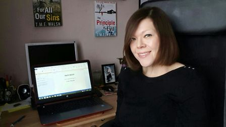 T. M. E. Walsh, the Stevenage-based author of the DCI Claire Winters series.