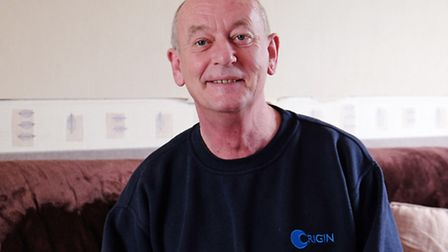 Long-distance lorry driver Martin Hamilton helped two other lorry drivers after their lorries blew o