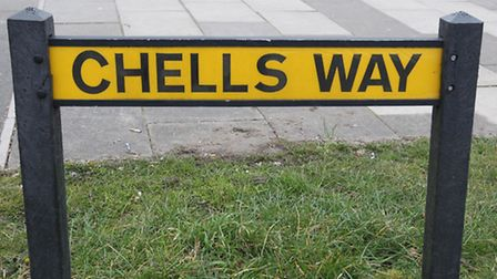 Chells Way will be resurfaced from April 25