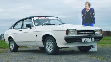 Terry McCann's Ford Capri from Minder is to go on sale