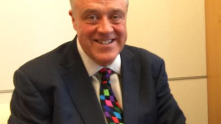 Labour MEP Richard Howitt, who narrowly avoided the terror attacks in Brussels this morning.