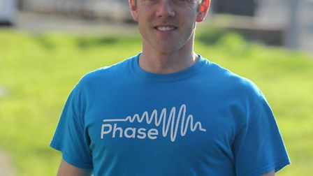 Kieran Murphy works for PHASE who have their name on a car attempting the world land speed record dr