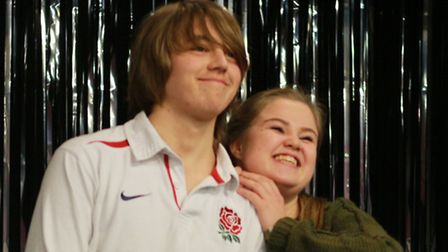 Ashley Clynes and Dan Byrne feature in leading roles in the Lytton Youth production of HACKBACK