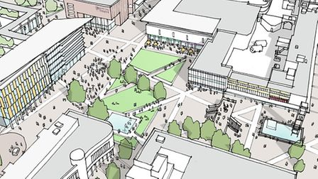 How Stevenage town centre could possibly look.