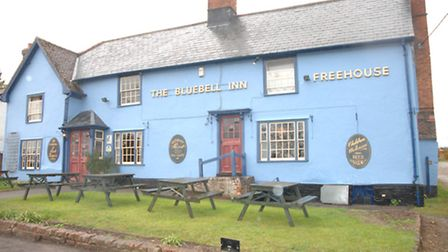 The Bluebell Inn in Hempstead, which has reopened following renovation