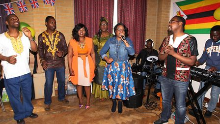 Celebrations to mark the twinning link between the Zimbabwean town of Kadoma and Stevenage last week