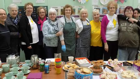Supporters and clients of Leisure Direct, the North Herts and Stevenage charity at their coffee morn