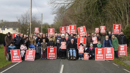 Hands off Steeple Bumpstead: Residents are fighting a plan of 95 homes