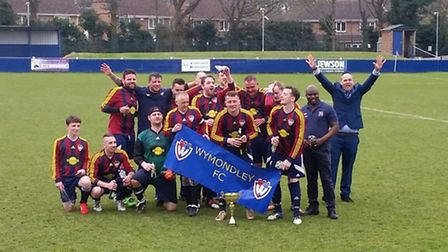 Wymondley FC won the Herts and Borders Christian League Trophy on Saturday.