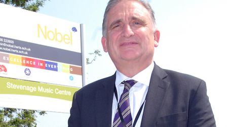 Headteacher Martyn Henson says education is about taking risks