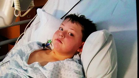 Harley has had a cancerous brain tumour removed and must now travel to the United States for further