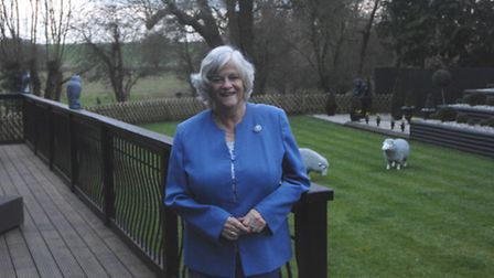 Ann Widdecombe, who spoke to the Reporter on Tuesday (March 22)