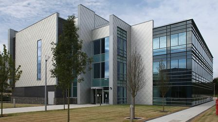 The Accelerator Building at the SBC campus in Gunnels Wood Road