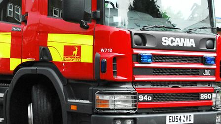 Fire crews extinguished a house fire in Hatfield