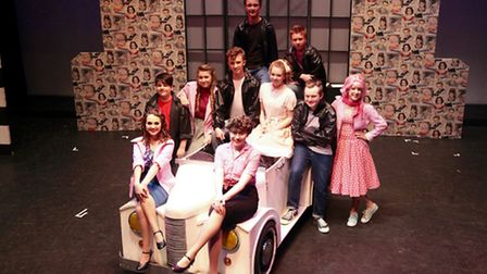 The Letchworth Young Arcadians won best youth production from NODA for their production of Grease la