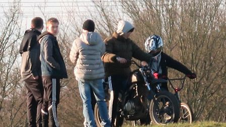 Bikers at St Nicholas Park are a danger to children according to residents