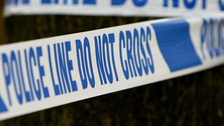 Police have cordoned off a pavement in Baldock as a precautionary measure.