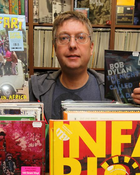 Andy Oaten from David's Music in Letchworth.