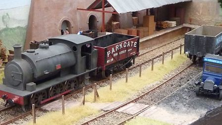 Model railway layouts will be on show in Stopsley