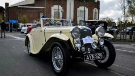 Letchworth Car Club held its Drive it Day event on Sunday.