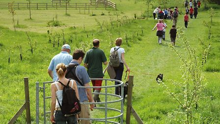 The Bartlow Three-Counties Charity Walk will take place on Sunday, May 1