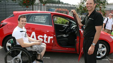 Adapted Vauxhall Astra at Get Going Live 2014