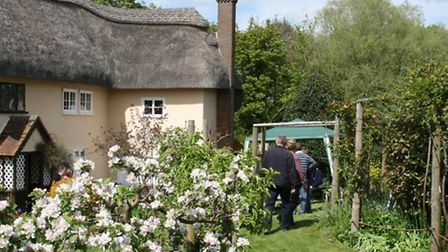 Enjoy chocolate box cottages in Ashwell this weekend
