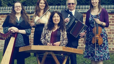 Members of the Abella band will make sure the barn dance goes with a swing
